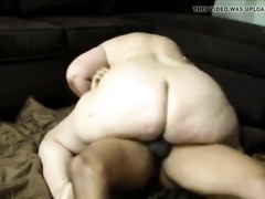 Amateur 60+ gilf getting big black cock in pussy