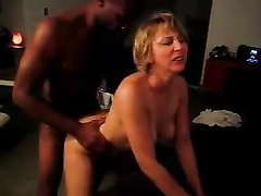 Black bull totally owns my blonde wife doggystyle