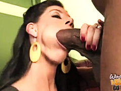 Cuckold son watching his mom pays his debt to BBC